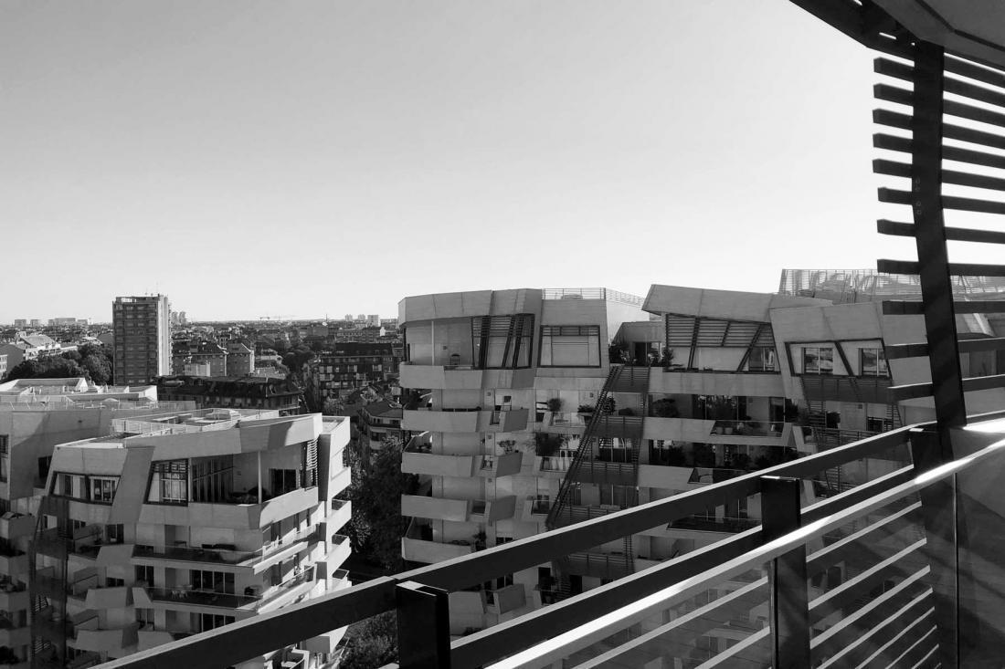 citylife terrace view