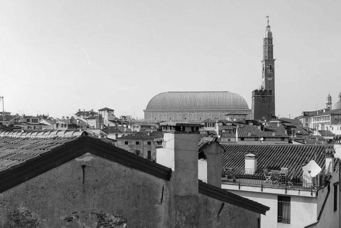 vista su basilica palladiana da attico