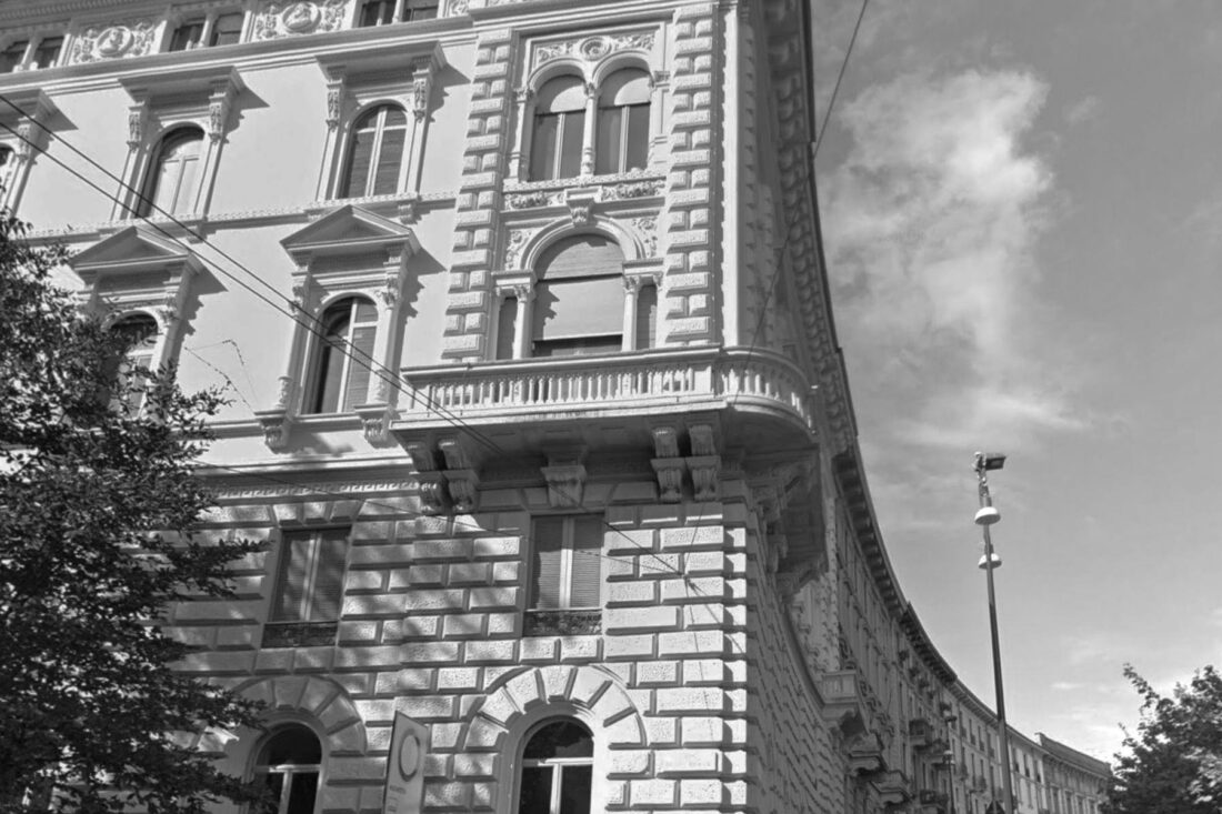 historical building in Piazza Castello Milano